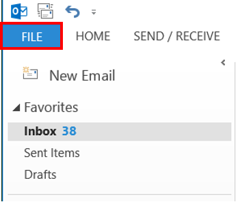 Changing the Reply E-mail address in Outlook | IT Services