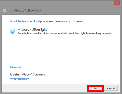 Troubleshooting Microsoft Silverlight   IT Services