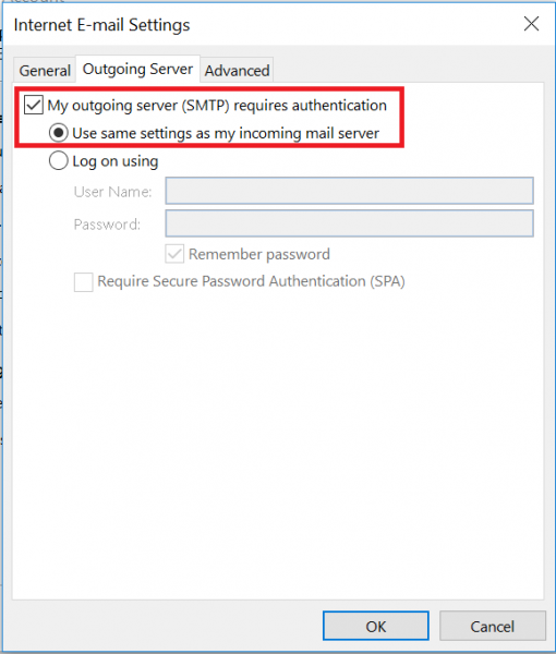 Adding a gmail account to Outlook using IMAP | IT Services