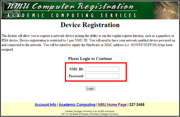 Connect a Device to the NMU Network | IT Services
