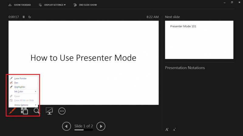 Using Presenter's View in PowerPoint | IT Services